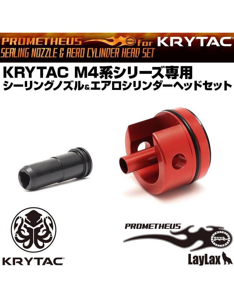 Laylax Laylax - Prometheus Aero Cylinder Head & Nozzle for Krytac M4