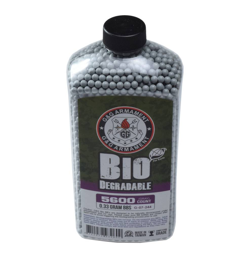 G&G G&G 0.33g - 5600 bio bb's