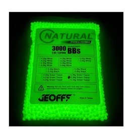 Geoffs Geoffs Natural Precision 0.30g - 3000 bio tracer bb's