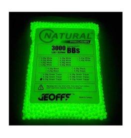 Geoffs Geoffs Natural Precision 0.25g - 3000 bio tracer bb's