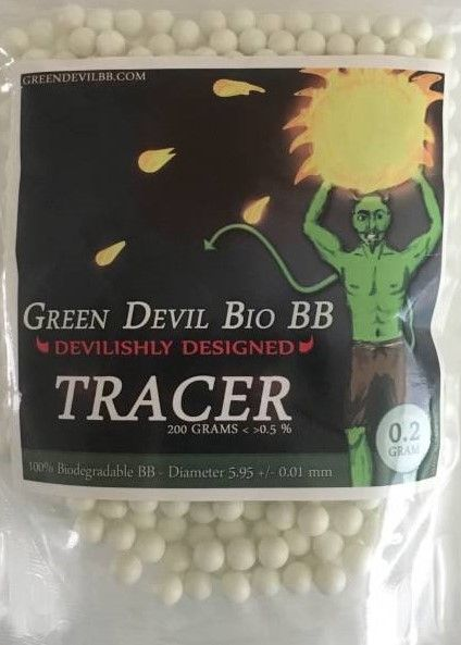 Green Devil Green Devil 0.20g - 1000 bio tracer bb's