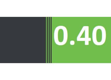 0.40g