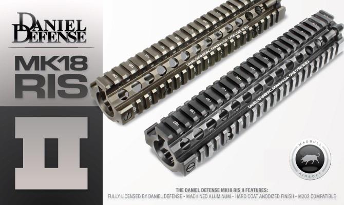 Madbull Daniel Defense MK18 9.5 inch RIS - Zwart