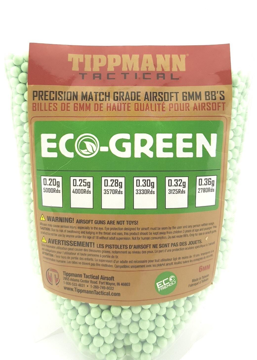 Tippmann Tippmann 0.32g - 3125 bio bb's - green