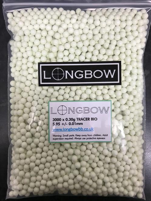 Longbow Longbow 0.30 BIO 3000 Tracer BB's