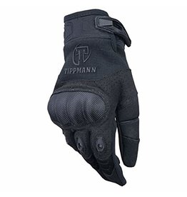 Tippmann Attack Gloves Hard Knuckle - Zwart