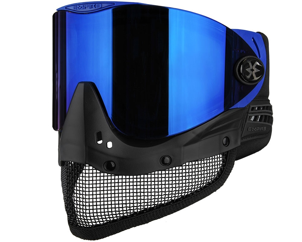 Empire Empire - E-Mesh Goggle - Blauw - Thermal Mirror Blauw C3