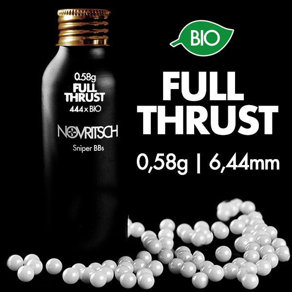 Novritsch Novritsch Sniper BIO BB's 0.58 (6.44 mm FULL THRUST kit nodig)