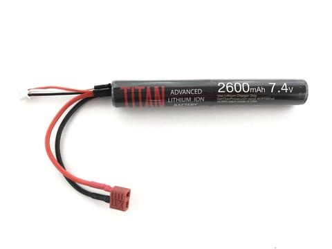 Titan Power Titan Power 7.4v 2600 mAh Stick - Deans