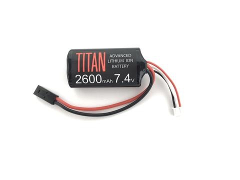 Titan Power Titan Power 2600 mAh 7.4v Brick - Tamiya