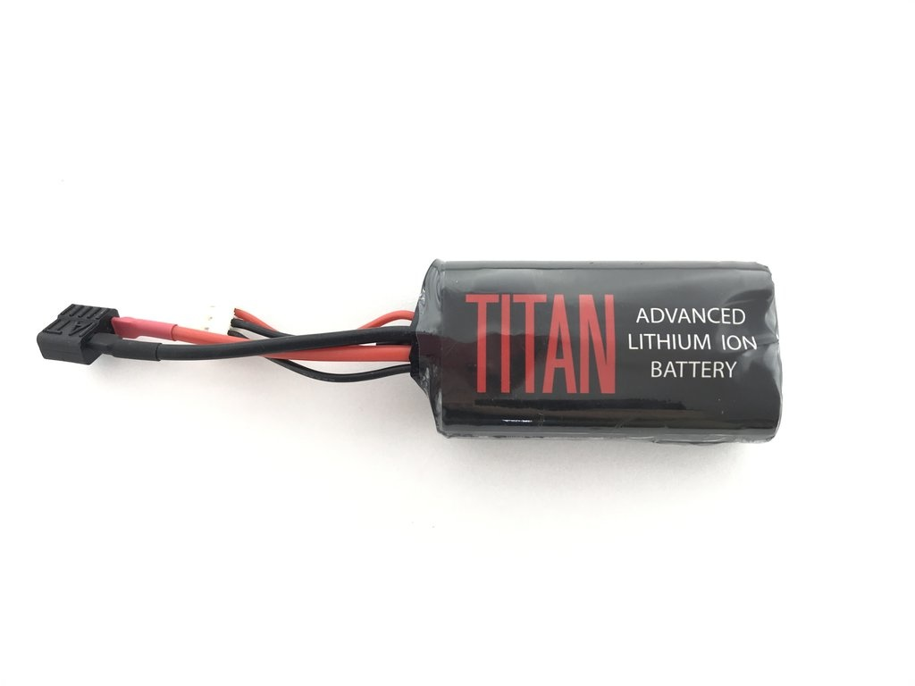 Titan Power Titan Power 2600 mAh 7.4v Brick - Deans