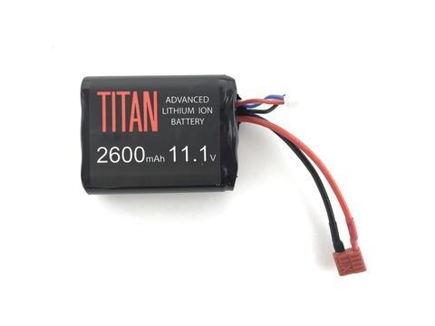 Titan Power Titan Power 2600 mAh 11.1v Brick - Deans
