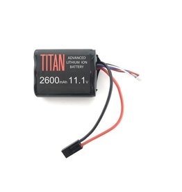 Titan Power Titan Power 2600 mAh 11.1v Brick - Tamiya