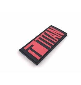 Titan PVC Velcro Patch