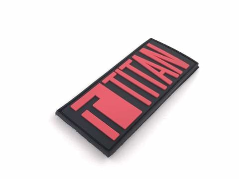 Titan Power Titan Power - PVC Velcro Patch