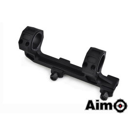 Aim-O GE Short Version 25.4mm / 30mm Mount Base zwart