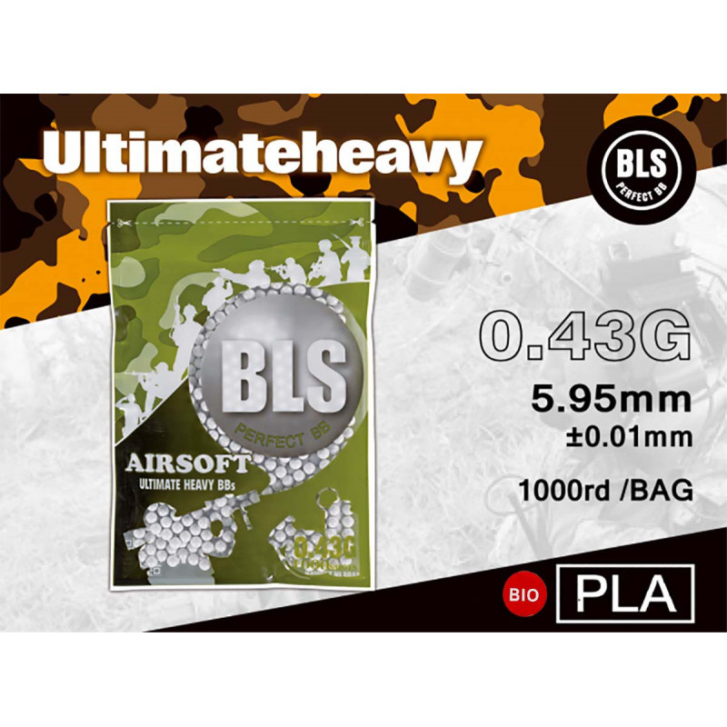 BLS BLS  0.43 BIO 1000 BB's