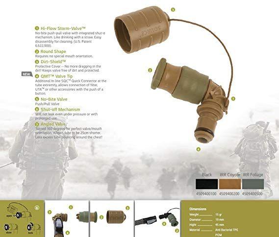 Storm Push-Pull Valve Kit - Black