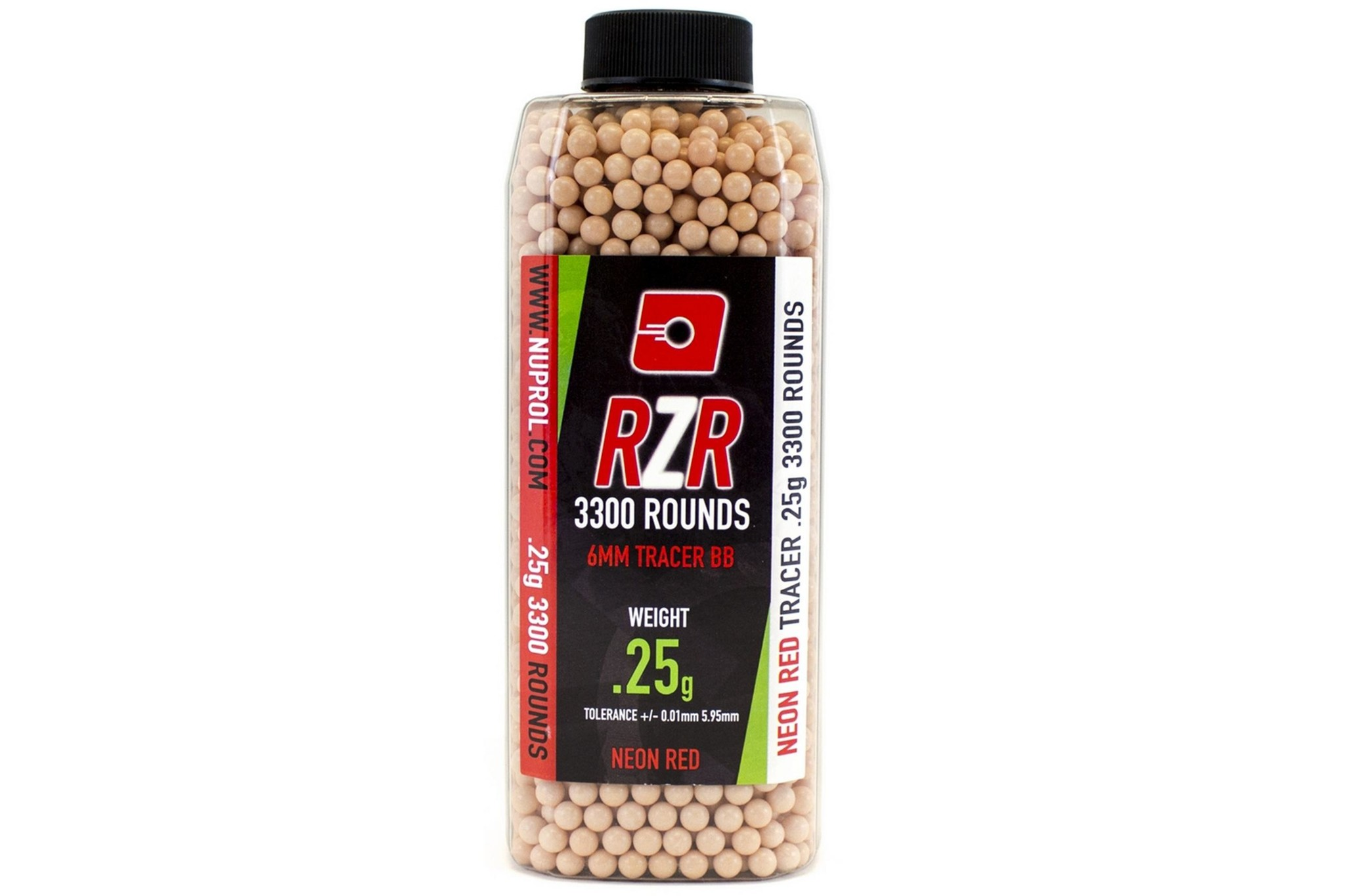 Nuprol Nuprol 0.25g - 3300 non-bio tracer bb's - red