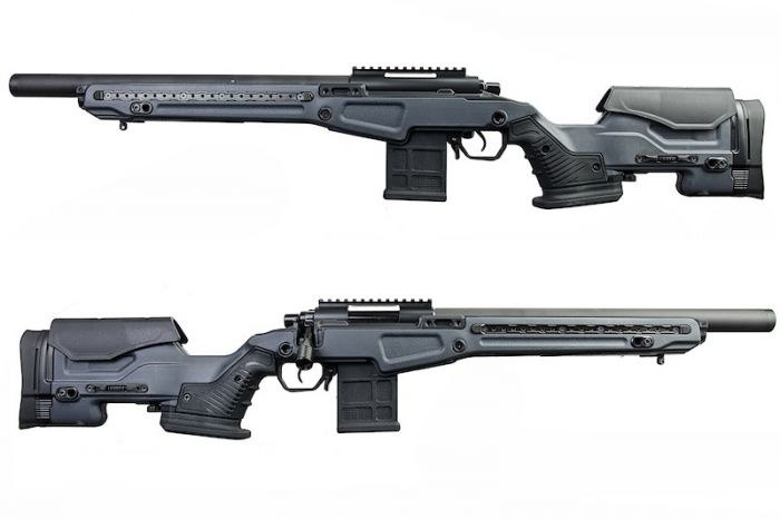 Action Army Action Army T10 Bolt Action Sniper - Short - Grijs