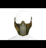 Invader Gear Invader Gear - Mk.II Steel Half Face Mask Woodland