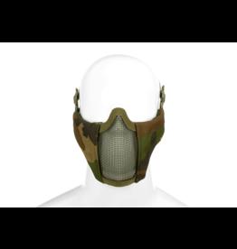 Invader Gear Mk.II Steel Half Face Mask Woodland