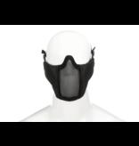 Invader Gear Invader Gear - Mk.II Steel Half Face Mask Black