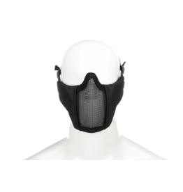 Invader Gear Mk.II Steel Half Face Mask Zwart