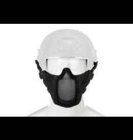 Invader Gear Mk.II Steel Half Face Mask FAST Version Black