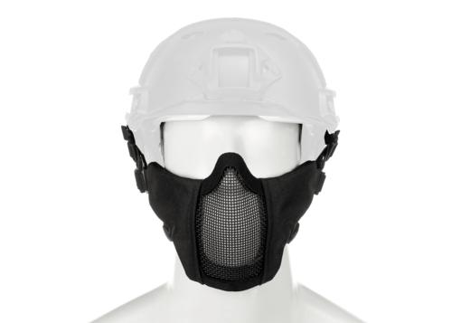 Invader Gear Invader Gear - Mk.II Steel Half Face Mask FAST Version Black