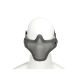Invader Gear Invader Gear - Steel Half Face Mask Grijs