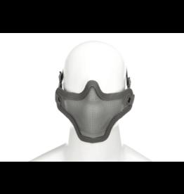 Invader Gear Steel Half Face Mask Grey