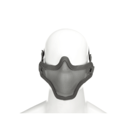 Invader Gear Steel Half Face Mask Grijs
