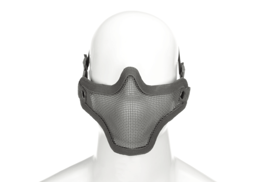 Invader Gear Invader Gear - Steel Half Face Mask Grey