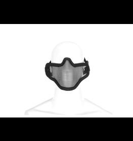 Invader Gear Steel Half Face Mask Black