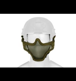 Invader Gear Steel Half Face Mask FAST Version OD