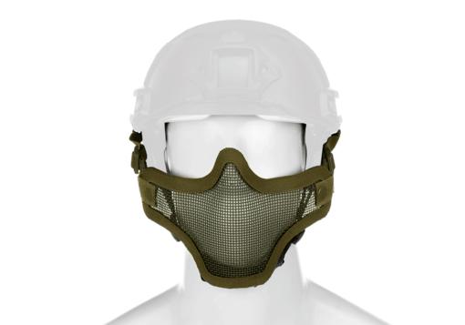 Invader Gear Invader Gear - Steel Half Face Mask FAST Version OD