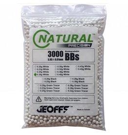 Geoffs Geoffs Natural Precision 0.28g - 3000 bio bb's
