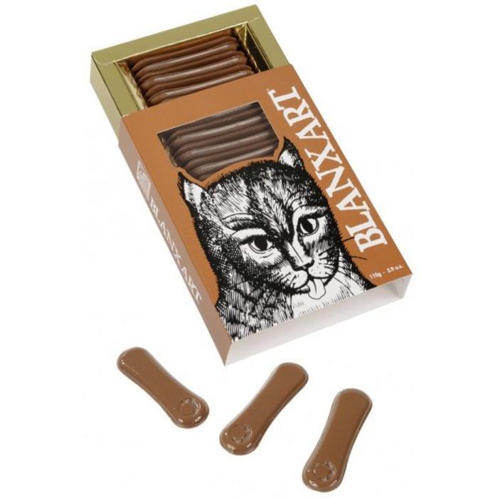- Katzenzungen. 33% Milchschokolade, 110g