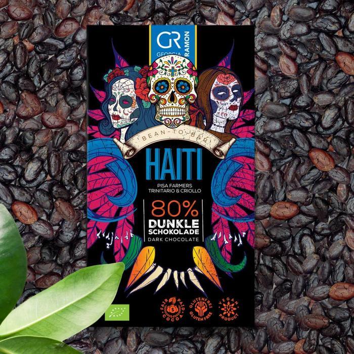 - Haiti 80 %, 50g