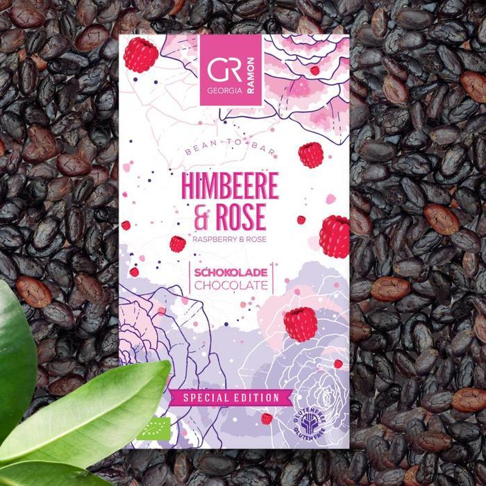 -  Bio - Himbeere & Rose, 50g