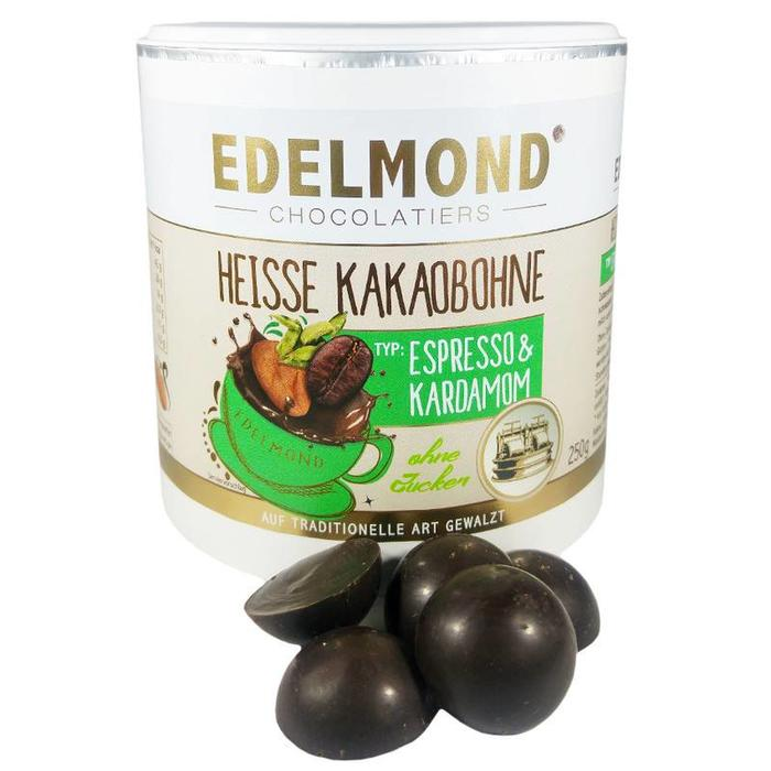 - Trinkschokolade Espresso Kardamom, Bio, 250g