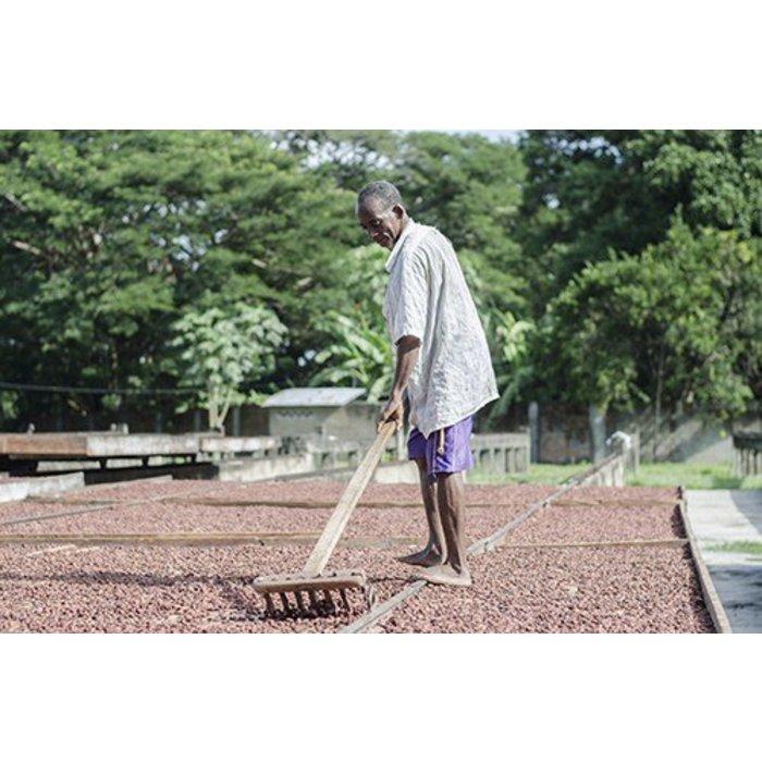 "- 40% COCOA Vegan Milchschokolade ""Cashew"" | Chocolaterie Robert Malagasy, 85g"
