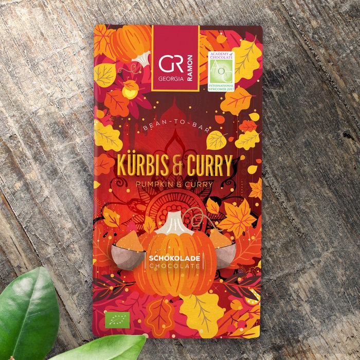 - Weisse mit Kürbis & Curry BIO , 50g