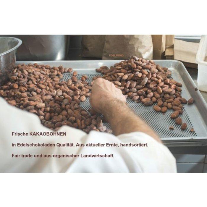- 100%-Kakaobohnen Tafel, Extra Bitter, Bio , 70g