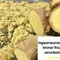 -   Ingwer-Zartbitterschokolade, Bio, 75g