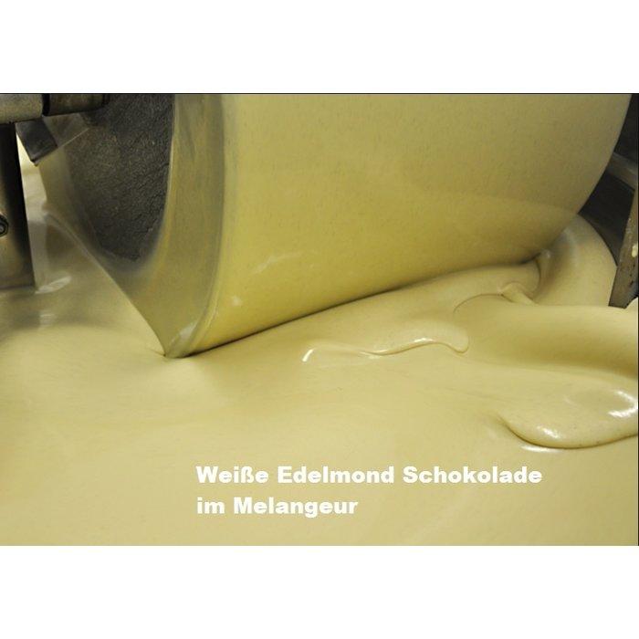 -   Geröstete Mandeln und Sanddorn, Weiße Schokolade, Bio, 80g