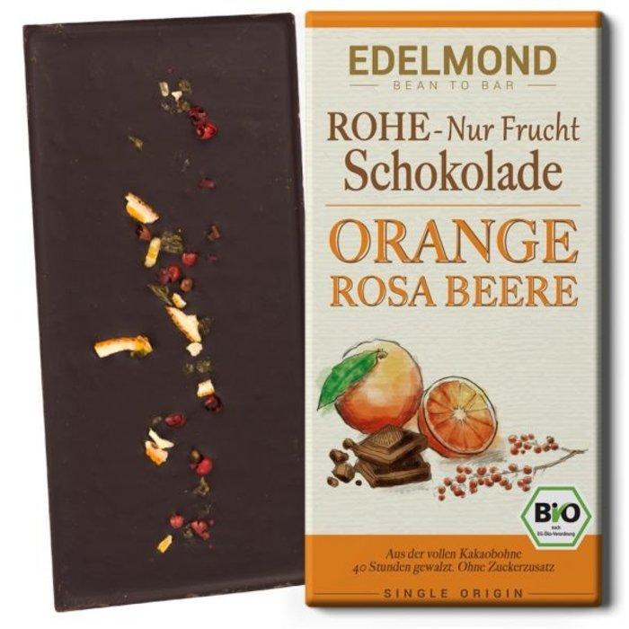 -   Rohe 75% Schokolade Orange & Rosa Beere, Bio