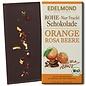 -   Rohe 75% Schokolade Orange & Rosa Beere, Bio, 80g