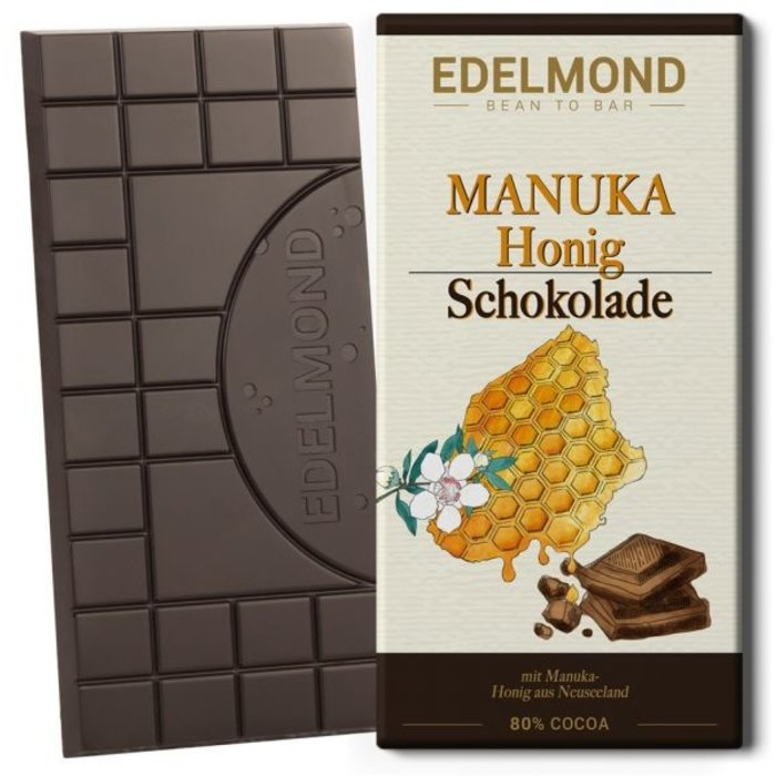 -   Herbe Manuka-Honig Schokolade, 75g